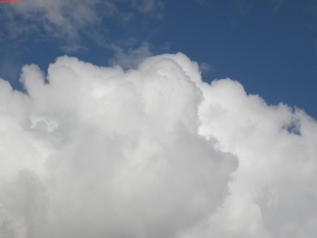много облаков