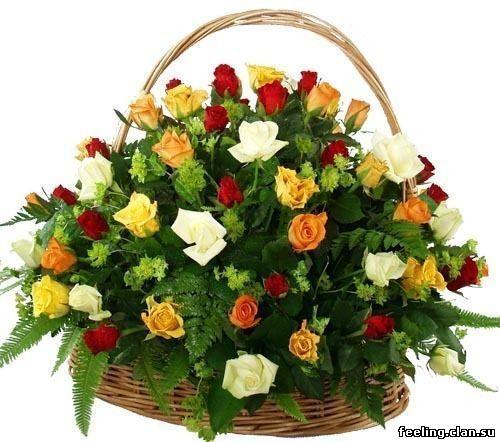 Веселые девушки с цветами кртинки